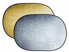 Skladacia odrazová doska zlatá / strieborná 120x180cm BRESSER BR-TR5