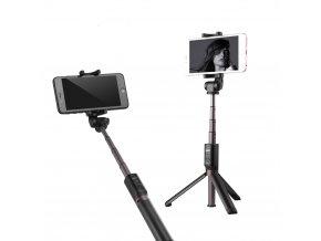Statív a selfie tyč s Bluetooth 3v1