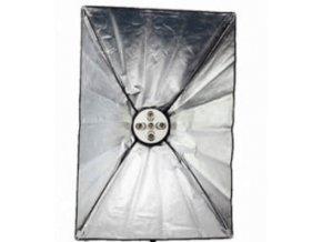 Daylight Set 60x90cm + 5x objímka E27, BEZ žiaroviek a stojanu