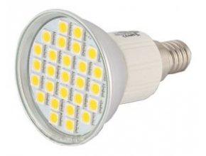 Žiarovka E14 27 LED 5050 SMD teplá 4W = 40W REFLEKTOR