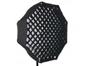 Dáždnikový softbox OCTAGON 80 cm s voštinovou mriežkou (GRID)