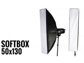Softbox 50x130cm STRIP, úchyt Bowens
