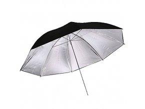 Štúdiový dáždnik strierno/čierny 83cm