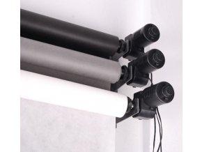 Elektrický závesný systém pre 3 fotopozadia