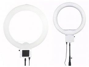 Trvalé kruhové biele LED svetlo so zrkadlom 70W