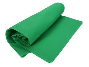 Textílne fotografické pozadie 3x3m, zelené (green screen)