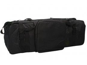 Čierna taška pre štúdiové zariadenie, statívy, svetlá Massa