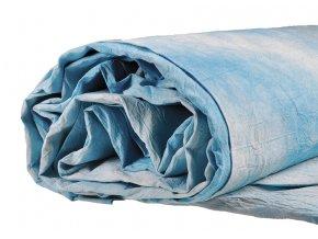 Mušelínové pozadie 3 x 6 m, bledo-modré