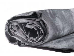 Mušelínové pozadie 3 x 6 m, strakatá šedá