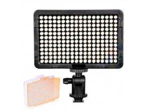 Fotografické panelové LED svetlo 5600K - 216 LED diód