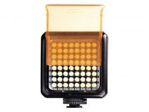 Fotografické LED svetlo 5300K - 64 LED diód