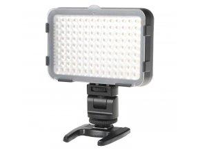 Fotografické LED svetlo s reguláciou farieb + 3 filtre (160 LED diód)