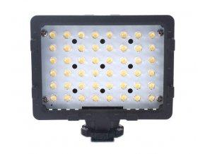 LED video svetlo - 48 LED diód + 2 filtre