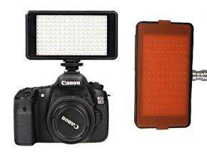 LED svetlo pre zrkadlovku/smartfón