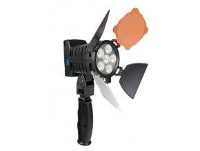 LED svetlo pre fotoaparát - 6 LED diód