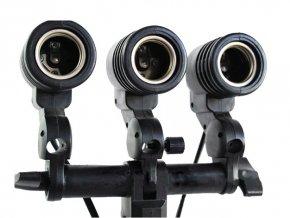 Držiak žiarovky 3x E27 a dáždnika