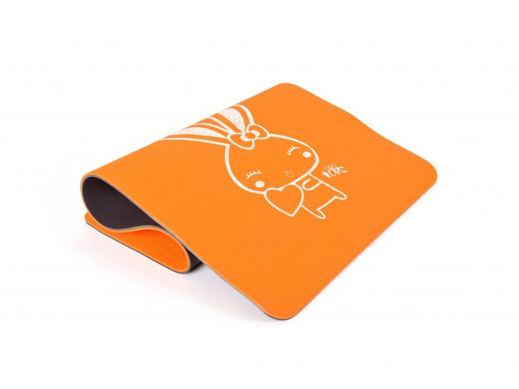 Podložka Na Cvičení EuProMed Oranžová dětská 8 mm