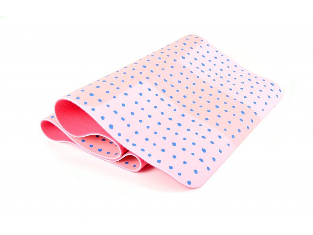 Podložka Na Cvičení EuProMed Růžová S Puntíky 5 mm