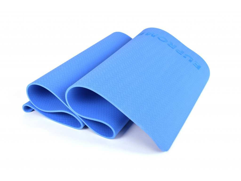 Podložka Na Cvičení EuProMed Modrá Honeycomb 8 mm