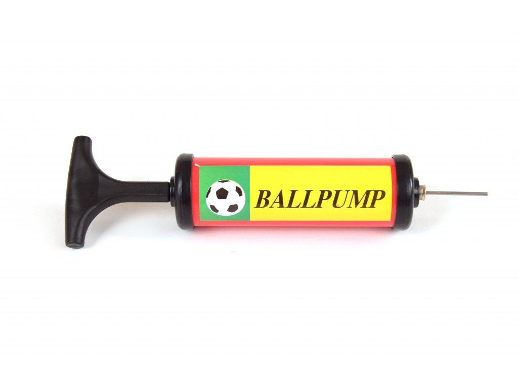 Pumpička na míče - ruční tlaková