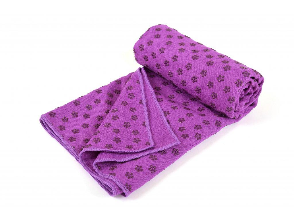 Protiskluzová podložka ručník Eupromed Jowel Fialová