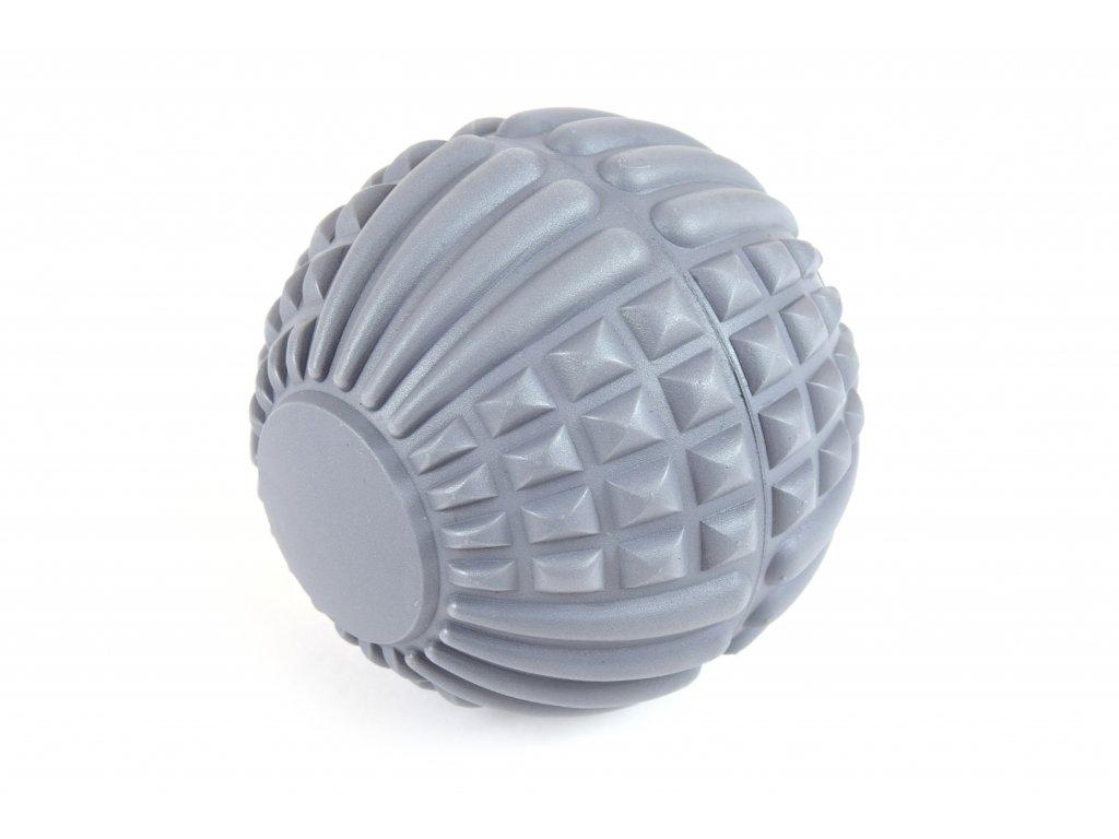 Masážní míček fasciální - 12,5 cm ŠEDÁ