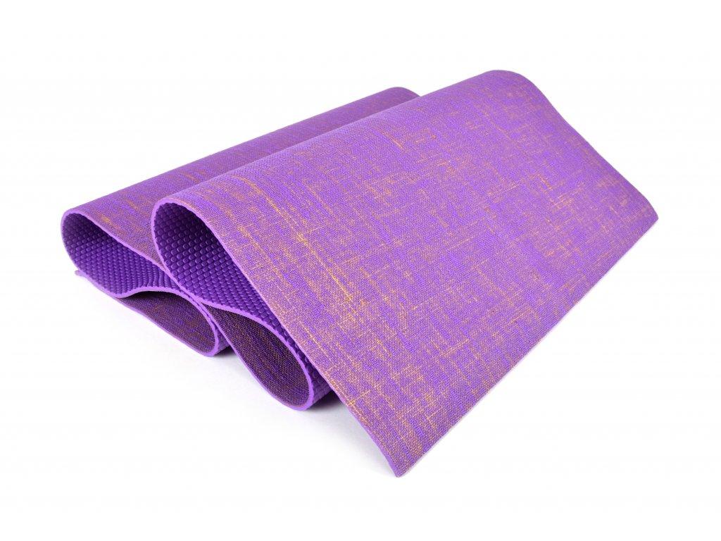 Podložka na cvičení Eupromed Profi Jute Purple