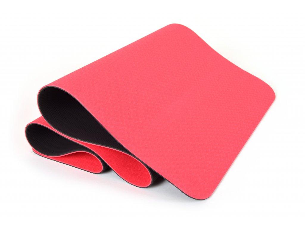 Podložka Na Cvičení EuProMed Rainbow Červená / Černá 6 mm