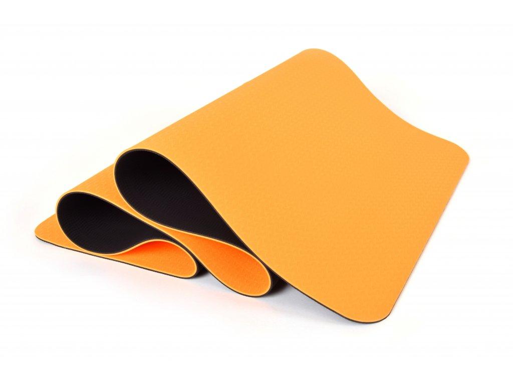 Podložka Na Cvičení EuProMed Rainbow Oranžová / Černá 6 mm