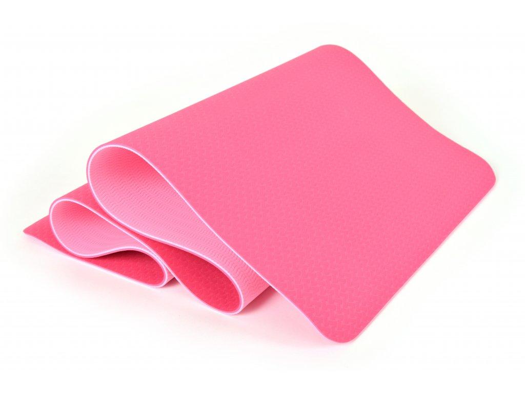 Podložka Na Cvičení EuProMed Rainbow Růžová / Růžová 6 mm