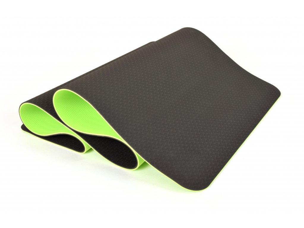 Podložka Na Cvičení EuProMed Rainbow Černá / Zelená 6 mm