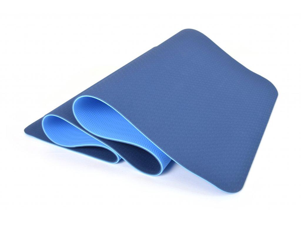 Podložka Na Cvičení EuProMed Rainbow Modrá / Modrá 6 mm
