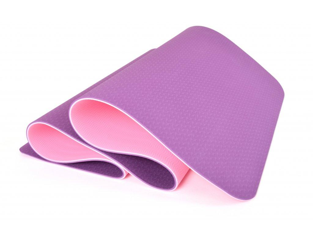 Podložka Na Cvičení EuProMed Rainbow Fialová / Růžová 6 mm