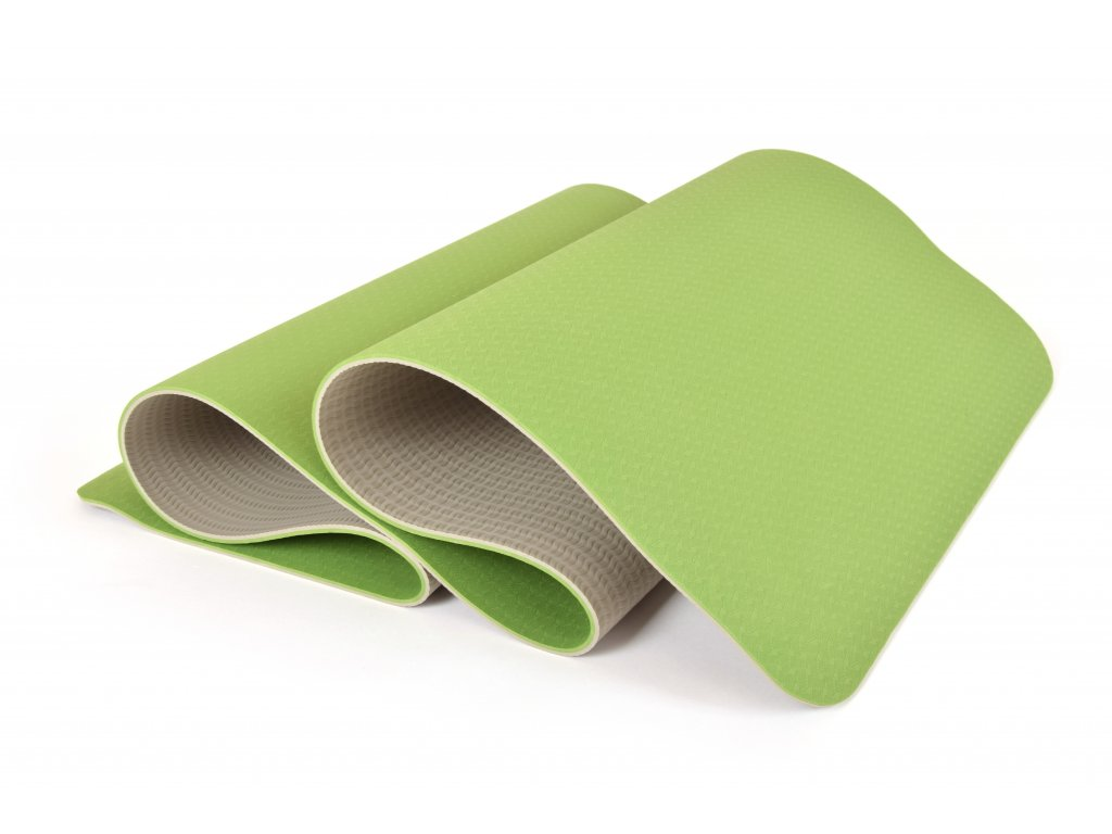 Podložka Na Cvičení EuProMed Rainbow Zelená / Šedá 6 mm