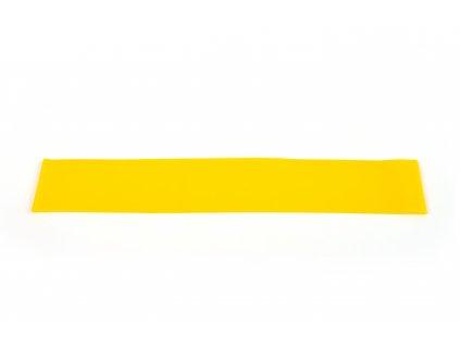 Posilovací guma 60 cm - ŽLUTÁ 0,7 mm