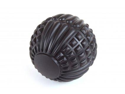Masážní míček fasciální - 12,5 cm ČERNÁ