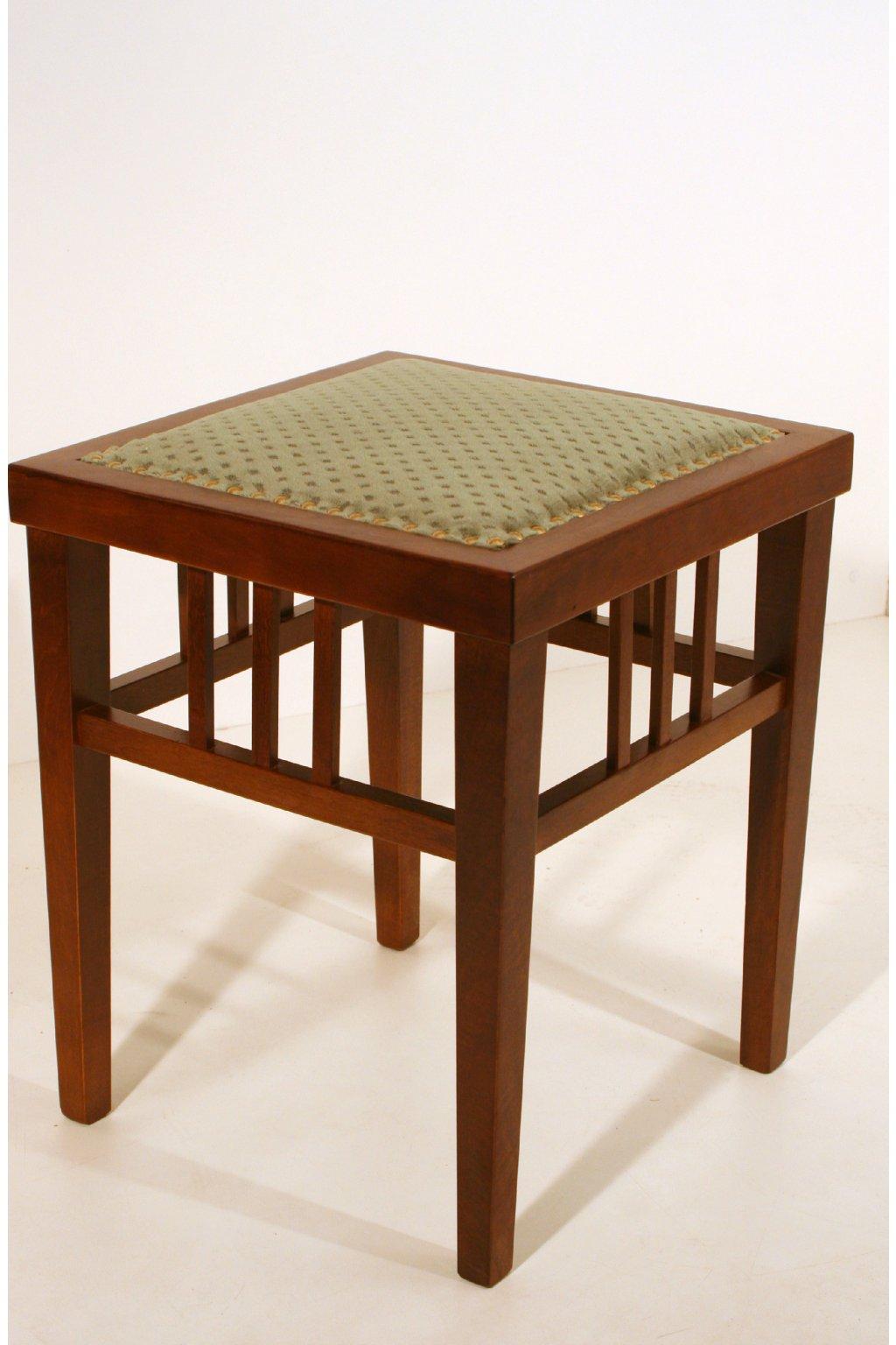 starožitná čalouněná stolička