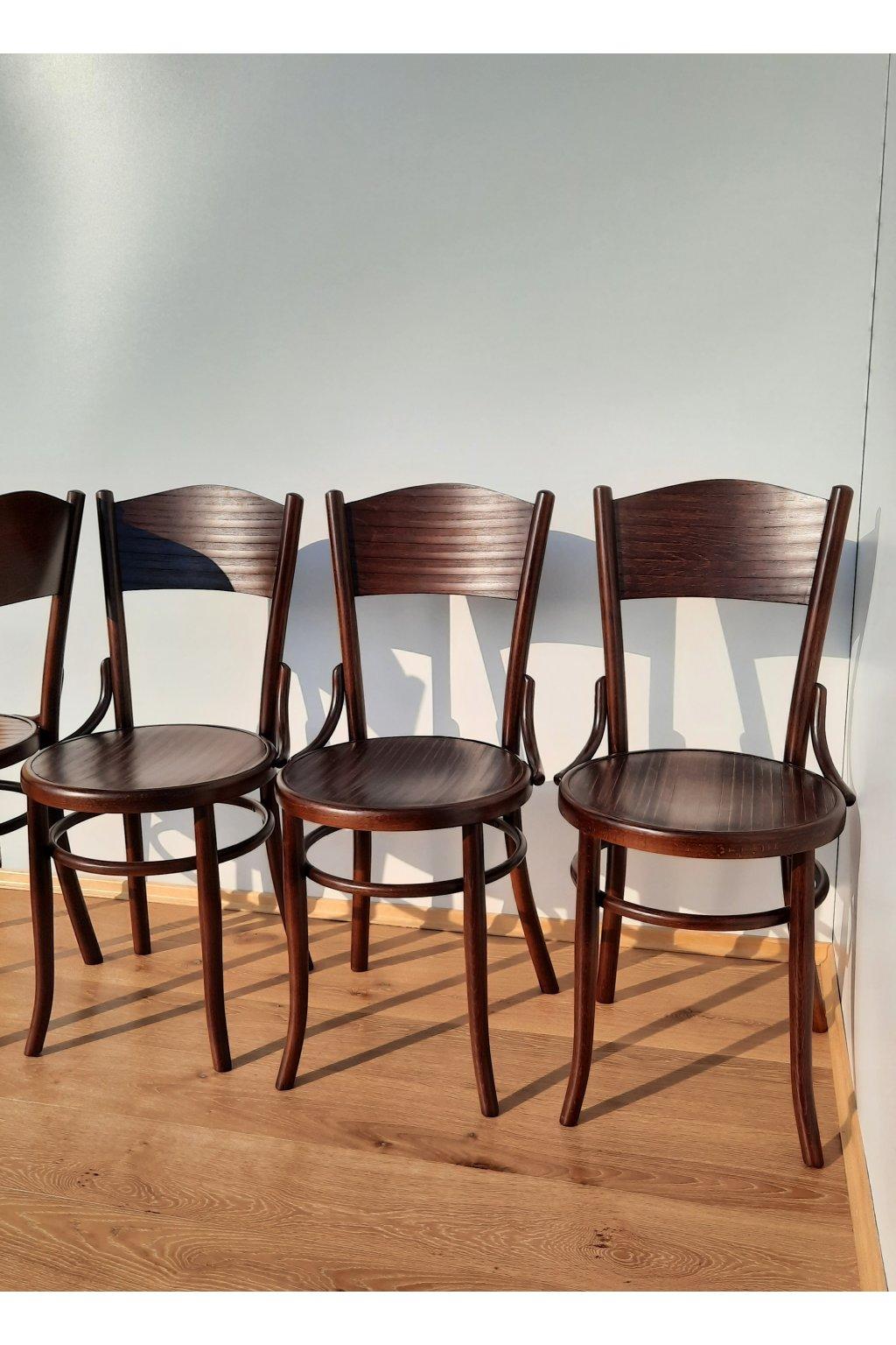 dřevěné židle tonet