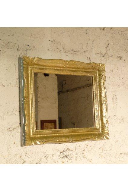 zlatý rám. zrcadlo ve zlatém rámu