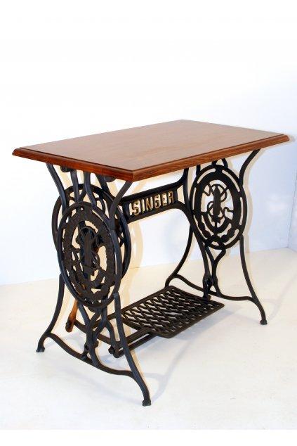 Stůl šicí stroj litinové nohy