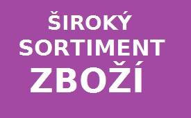 ŠIROKÝ SORTIMENT
