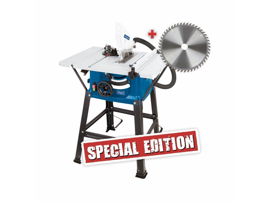 Scheppach HS 81 S Special Edition pila  + Pracovní polomáčené rukavice