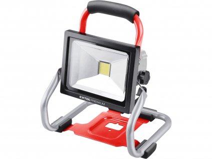 EXTOL PREMIUM 8891871 reflektor LED aku SHARE20V, 1800lm, 20V Li-ion, bez baterie a nabíječky