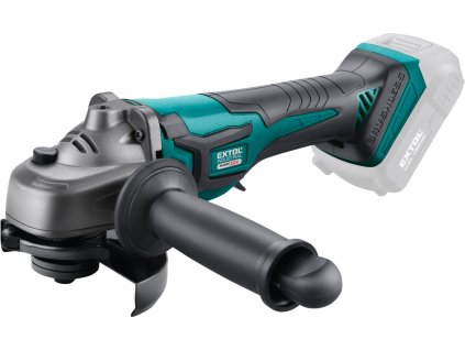 EXTOL INDUSTRIAL 8791841 bruska úhlová aku SHARE20V, 125mm, BRUSHLESS, bez baterie a nabíječky