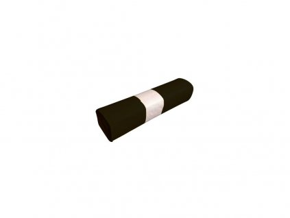 pytle na odpadky 120l (20ks) 70x110cm ČER 200µ extra silné