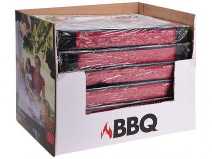 gril jednorázový 48x31x6cm BBQ (1kg uhlí)