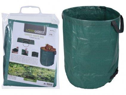 koš na zahradní odpad skládací pr.67x76cm PE