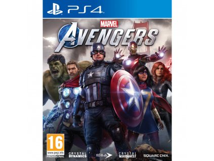 Marvels Avengers hra PS4