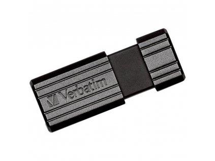 USB FD 64GB PINSTRIPE BLACK VERBATIM