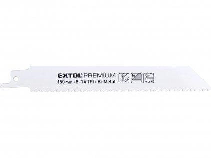 EXTOL PREMIUM 8806205 plátky do pily ocasky 3ks, 150x19x0,9mm, Bi-metal